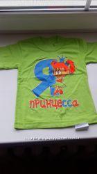 футболка на 3-4 года