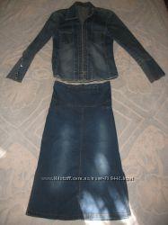 Джинсовый костюм Joana