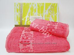 Бамбукрвые Турецкие полотенца для лица и банные