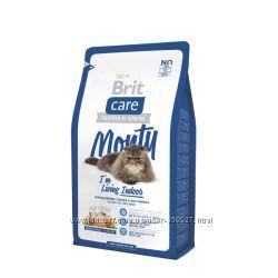 Сухой корм для котов Brit Care Monty Indoor