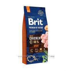 Корм для собак с высокой активностью Brit Premium Sport