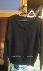 Школьный свитер на мальчика Next с треугольным вырезом