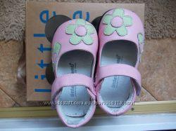 Продам кожаные туфли Little Blue Lamb, 23 размер