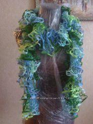 Красивый  длинный шарф