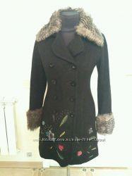 Демисезонное  пальто Desigual
