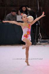 Купальник для выступлений по художественной гимнастике 5-8 лет