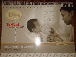 Каталог с рецептами к блендеру-пароварке Tefal Disney TD 7000