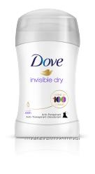 Дезодорант-стик для женщин Невидимый Dove Invisible Dry