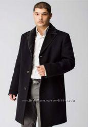 Мужское, зимнее, пальто, с натуральным мехом