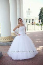 Пышное свадебное платье на рост до 168