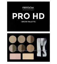 Набор тени помада для бровей Makeup Revolution,  Freedom Makeup  Англия