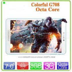 Бюджетный восьмиядерный планшет Colorfly G708