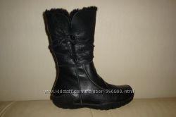 зимние кожаные сапоги WELFAR 40-41 р. стелька 26, 5 см