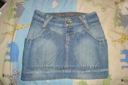 джинсовая юбка GLORIA JEANS на рост 158 см