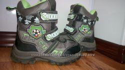 теплые зимние ботинки 16, 5см