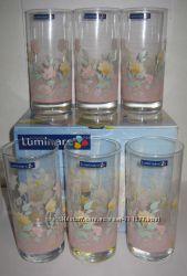Подарочные наборы цветных стаканов французского бренда Люминарк Luminarc