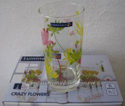 Набор цветных стаканов  Люминарк Luminarc Crazy новые