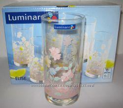Наборы высоких цветных стаканов Люминарк LUMINARC новые