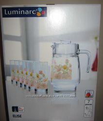 Комплект для напитков Люминарк Luminarc Elise 7 предметов