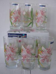 Набор высоких стаканов Люминарк Luminarc Freesia 6 шт в подарочной упаковке