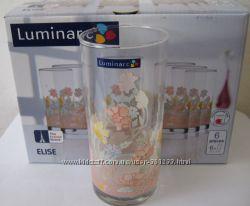 Набор стаканов фирмы Люминарк Luminarc Elise в подарочной упаковке