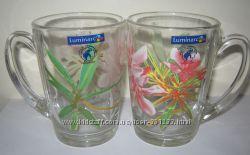 Очень красивые яркие чашки фирмы Люминарк Luminarc
