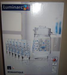 Набор для напитков Люминарк Luminarc Romantique новый