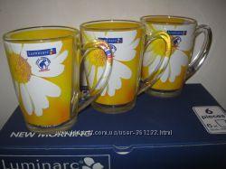 Подарочный набор ярких больших чашек фирмы Люминарк Luminarc