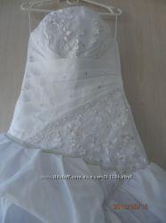 Шикарное свадебное платье одето 1 раз