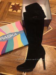 Продам женские замшевые сапоги Braska , 41 размер