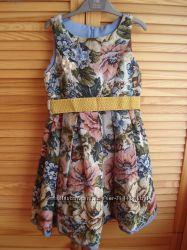 Гобеленовое платье Monnalisa