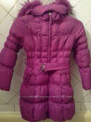 Продам зимний пуховик на девочку SNOWIMAGE  140р