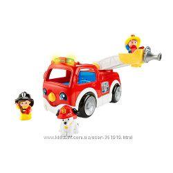 Пожарная машина Fisher-Price Little People Fire Truc