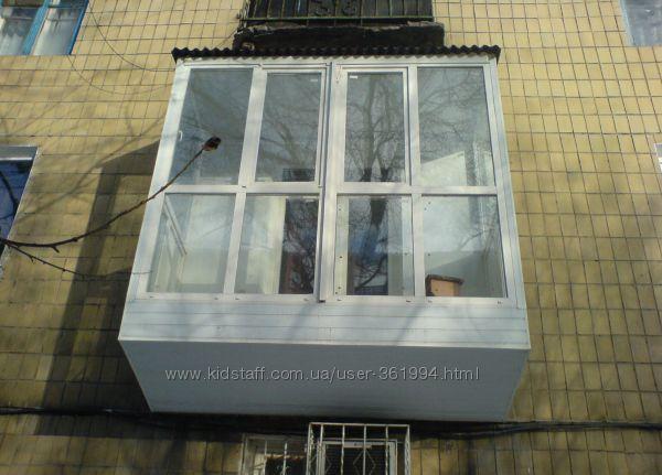 Балконы и лоджии под ключ Кременчуг