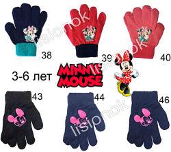 Перчатки disney оригингал, от 2 до 8 лет. для мальчиков и девочек