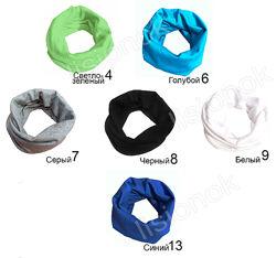 Детский шарф-хомут на осень, а также шапочки, все размеры