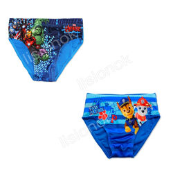 Плавки Disney для купания супер-герои, щенячий патруль, макквин 3-8 лет