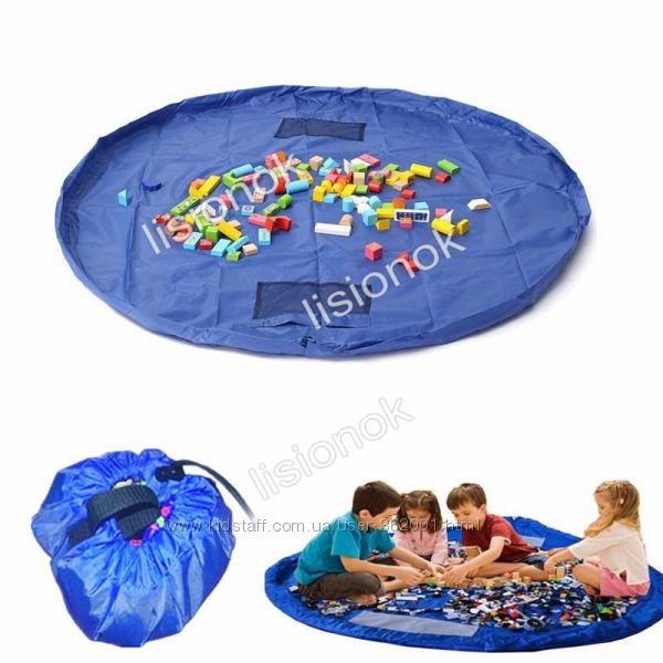 Игровой коврик мешок  незаменимая вещь для детской комнаты