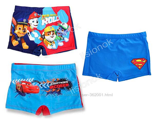 Плавки шорты боксеры для мальчиков, отличное качество, 6-8 лет