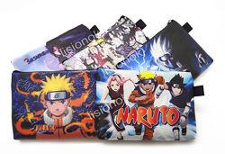 Кошелек наруто на змейке, яркий, красочный, с героями Naruto