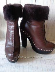 Зимние ботинки sasha fabiani цена снижена