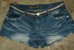 Стильные  джинсовые шорты размер ХS