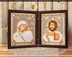 Наборы для вышивания православных складней по оптовой цене