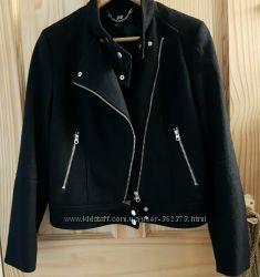 Косуха куртка пальто женское драп h&m л хл