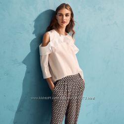 Зауженные брюки женские летние H&M М Л