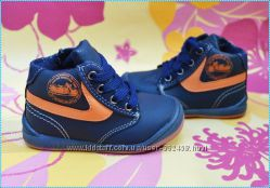 Модные ботиночки для маленьких мальчишек Новинка супер цена