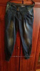 Женские джинсы-шаровары