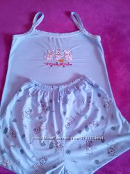 Пижамка майка шорты