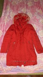 Теплая зимняя курка-пальто на девочку