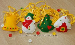 Безопасные новогодние украшения на ёлку